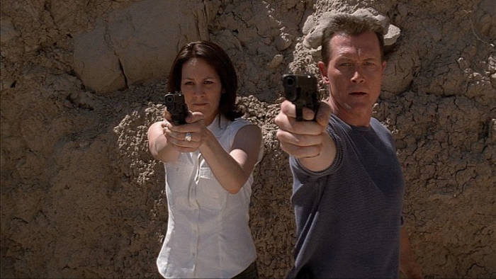 John Doggett e Monica Reyes