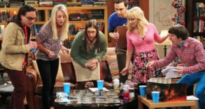 the big bang theory trama