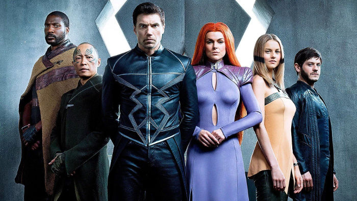inhumans character poster