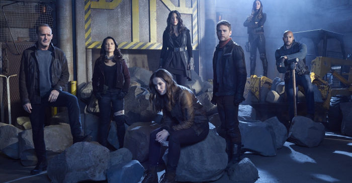marvels agents of shield team