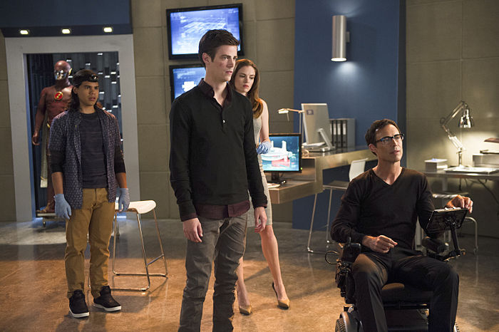 The Flash Cisco Ramon Barry Allen Caitlin Snow Harry Wells