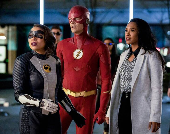 Barry Iris e Nora TheFlash5