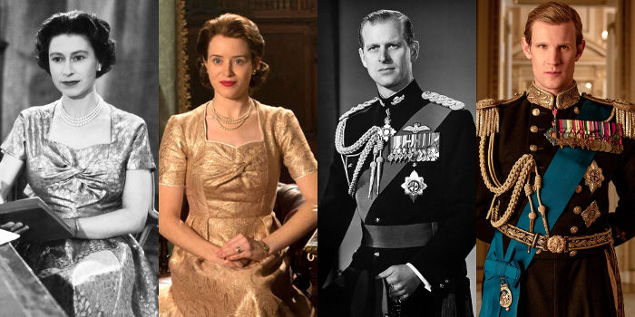 The crown Reali veri serieTV