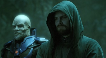 Oliver Queen Arrow7 AntiMonitor